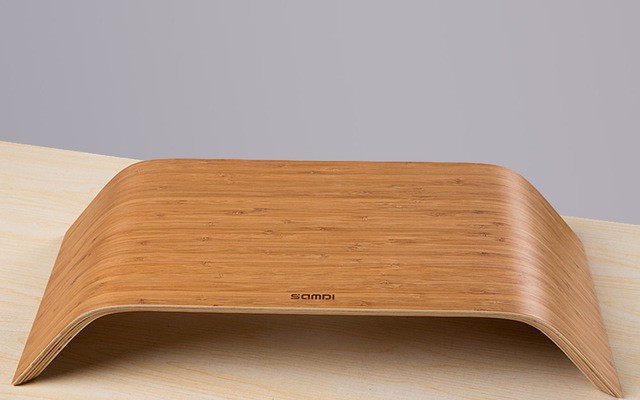 Laptop Stand Made Of Bamboo